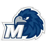 Extra Large Decal-Hawk with M, 18 in W