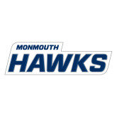 Extra Large Decal-Monmouth Hawks, 18 in W