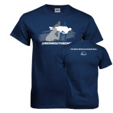 Navy T Shirt-The Big Catch