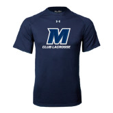 Under Armour Navy Tech Tee-Club Lacrosse