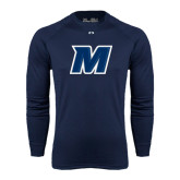 Under Armour Navy Long Sleeve Tech Tee-M