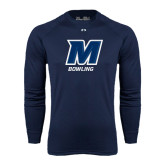 Under Armour Navy Long Sleeve Tech Tee-Bowling