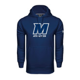 Under Armour Navy Performance Sweats Team Hood-Athletics