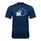 Syntrel Performance Navy Tee-Hawk with M