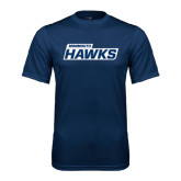 Syntrel Performance Navy Tee-Monmouth Hawks