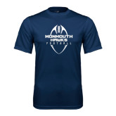 Syntrel Performance Navy Tee-Tall Football Design