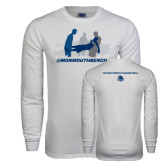 White Long Sleeve T Shirt-The Gives Me Life