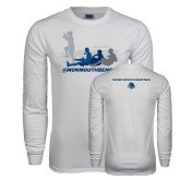 White Long Sleeve T Shirt-The Pirate Ship