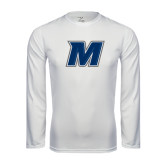 Syntrel Performance White Longsleeve Shirt-M