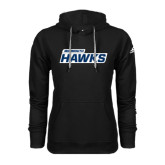 Adidas Climawarm Black Team Issue Hoodie-Monmouth Hawks