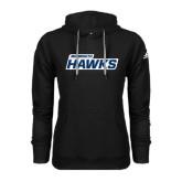 Adidas Climawarm Black Team Issue Hoodie-Monmouth Hawks
