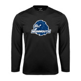 Syntrel Performance Black Longsleeve Shirt-Official Logo