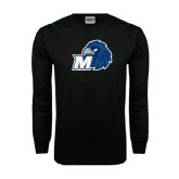 Black Long Sleeve TShirt-Hawk with M