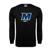 Black Long Sleeve TShirt-Golf