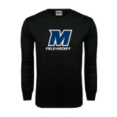 Black Long Sleeve TShirt-Field Hockey
