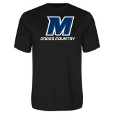 Syntrel Performance Black Tee-Cross Country