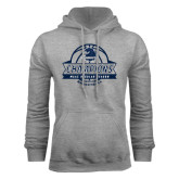 Grey Fleece Hood-2017 MAAC Regular Season Basketball Champions Banner