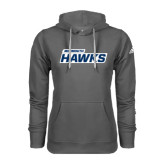 Adidas Climawarm Charcoal Team Issue Hoodie-Monmouth Hawks