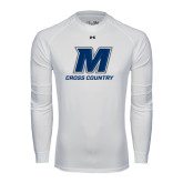 Under Armour White Long Sleeve Tech Tee-Cross Country