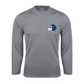 Syntrel Performance Steel Longsleeve Shirt-Hawk with M