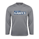 Syntrel Performance Steel Longsleeve Shirt-Monmouth Hawks