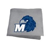 Grey Sweatshirt Blanket-Hawk with M