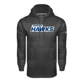 Under Armour Carbon Performance Sweats Team Hoodie-Monmouth Hawks