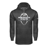 Under Armour Carbon Performance Sweats Team Hood-Tall Football Design