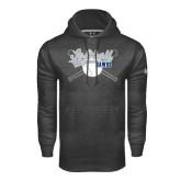 Under Armour Carbon Performance Sweats Team Hoodie-Cross Bats Softball Design