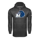 Under Armour Carbon Performance Sweats Team Hood-Hawk with M