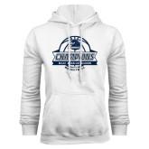 White Fleece Hoodie-2017 MAAC Regular Season Basketball Champions Banner