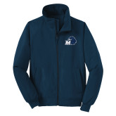 Navy Charger Jacket-Hawk with M