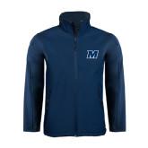 Navy Softshell Jacket-M
