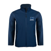 Navy Softshell Jacket-Track and Field