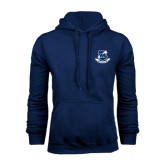 Navy Fleece Hoodie-The Blue White Club