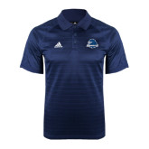 Adidas Climalite Navy Jaquard Select Polo-Official Logo