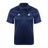 Adidas Climalite Navy Jaquard Select Polo-Hawk with M