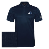 Adidas Climalite Navy Game Time Polo-Hawk with M
