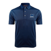 Navy Dry Mesh Polo-Track and Field