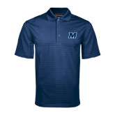 Navy Mini Stripe Polo-M