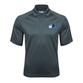 Charcoal Dri Mesh Pro Polo-Hawk with M