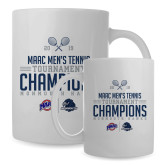 Full Color White Mug 15oz-2019 Mens Tennis Conference Champions