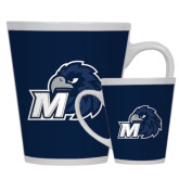 Full Color Latte Mug 12oz-Hawk with M