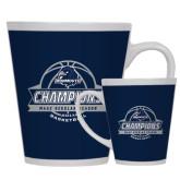 Full Color Latte Mug 12oz-2017 MAAC Regular Season Basketball Champions Banner
