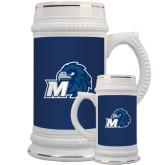 Full Color Decorative Ceramic Mug 22oz-Hawk with M