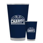 Full Color Glass 17oz-2017 MAAC Regular Season Basketball Champs Half Ball