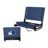 Stadium Chair Navy-Hawk with M