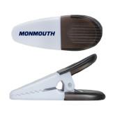White Crocodile Clip/Magnet-Monmouth