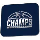 Full Color Mousepad-2017 MAAC Regular Season Basketball Champs Half Ball