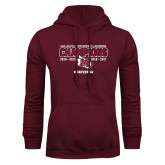 Maroon Fleece Hood-USA South Conference Lacrosse Champions